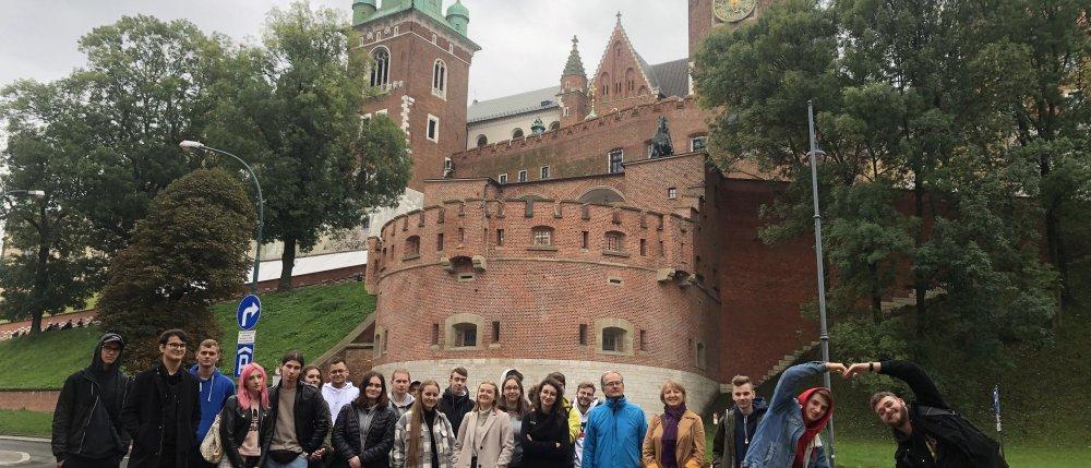 Klasa 4 TC na wycieczce do Ojcowskiego Parku Narodowego i Krakowa